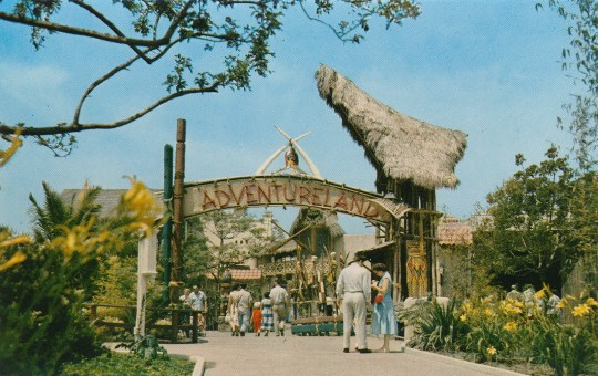 Entrance to Adventureland.