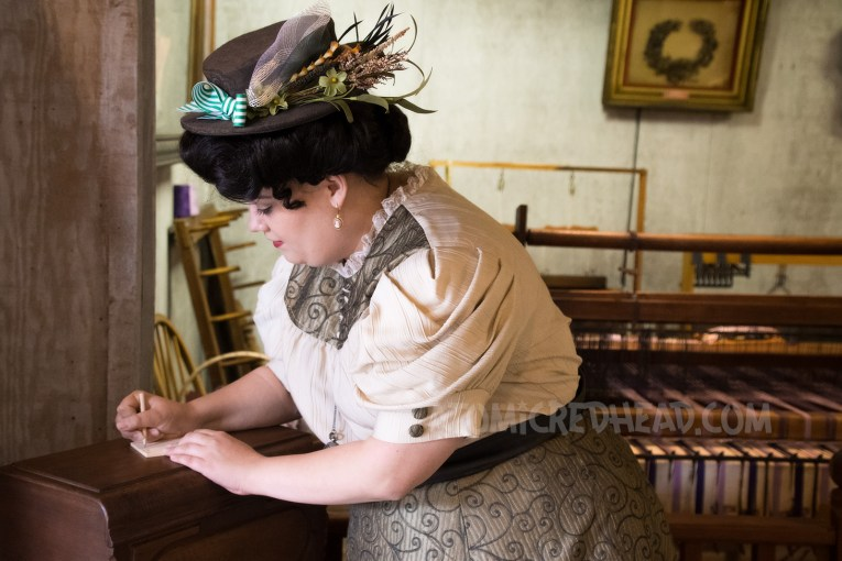 Donna is the new dress maker's assistant, and also a bit of a matchmaker. She helps romance along and writes notes to other citizens.