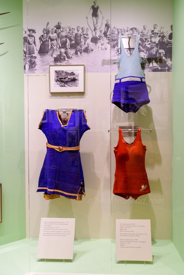 Vintage swimsuits made by the Catalina Swimwear Company.
