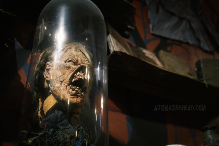 Scott's Deadite mask as used in the first film.