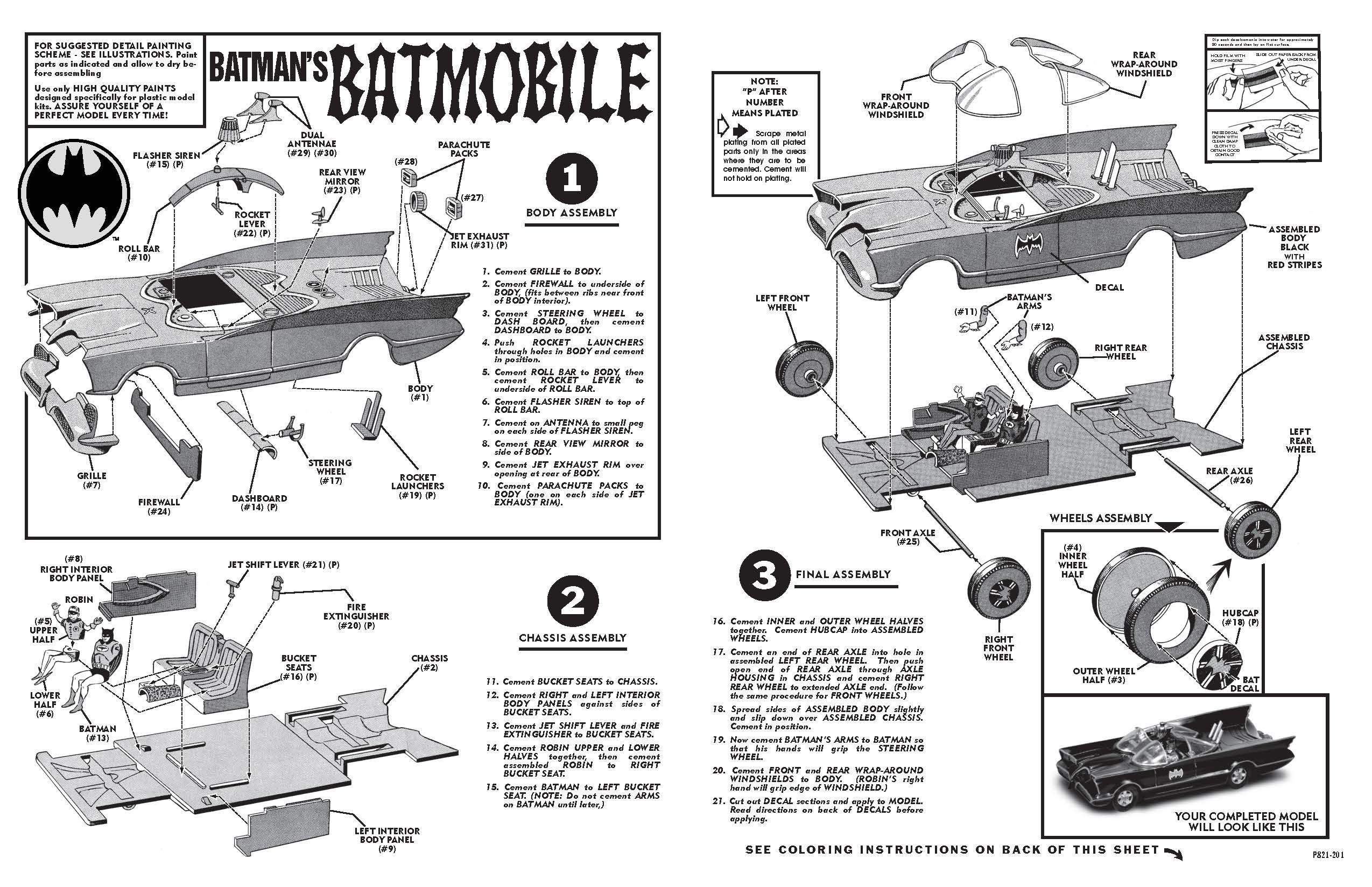 Aurora Batmobile Model
