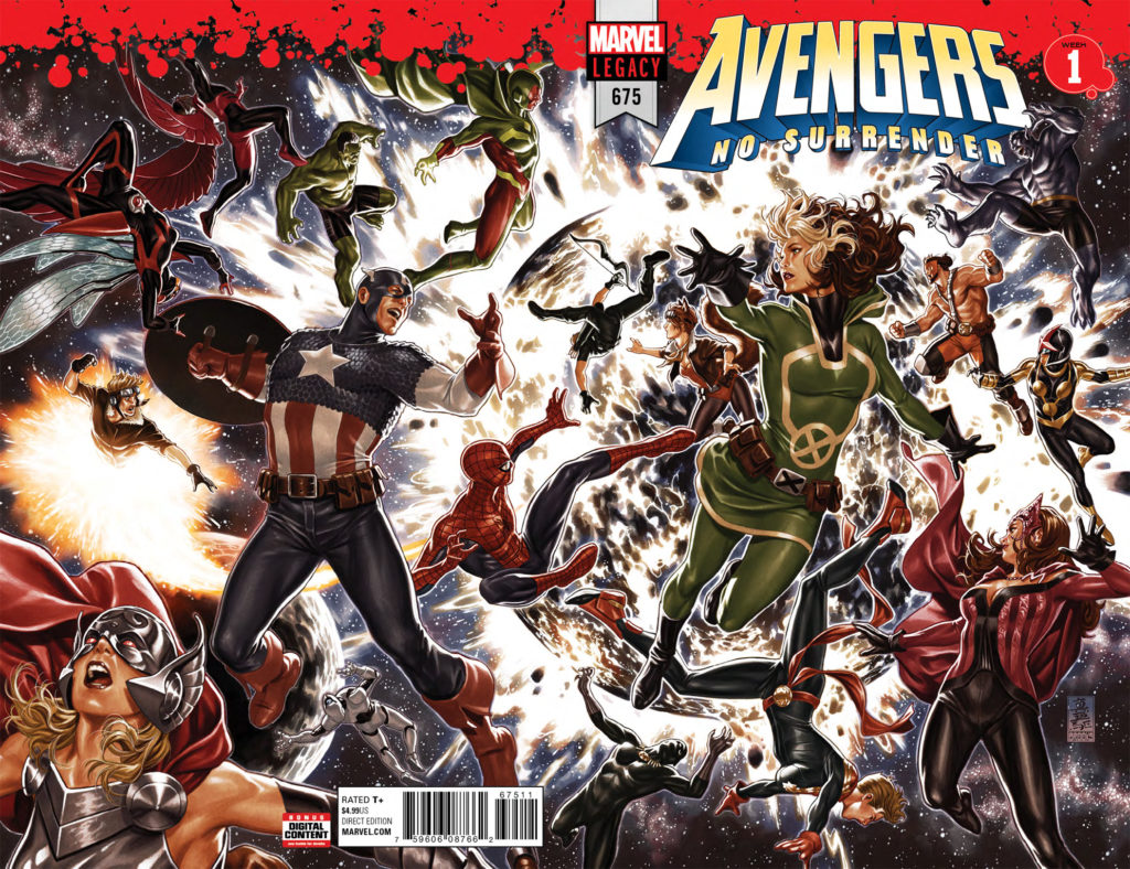 Get Avengers #675 FREE from Atomik Pop!