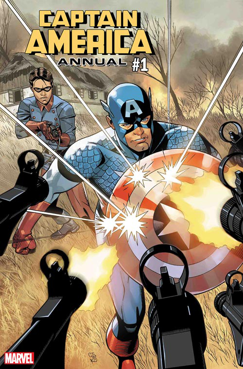 Captain America by Chris Sprouse