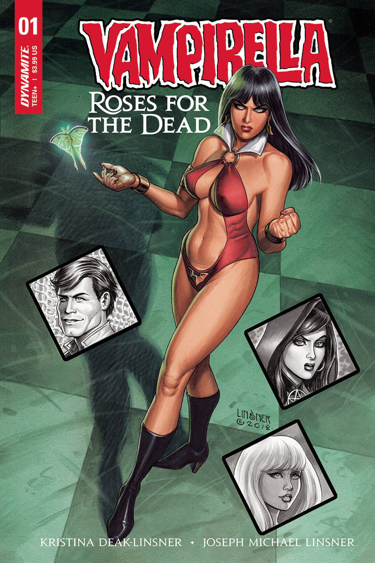 Vampirella Roses for the Dead, June 2018
