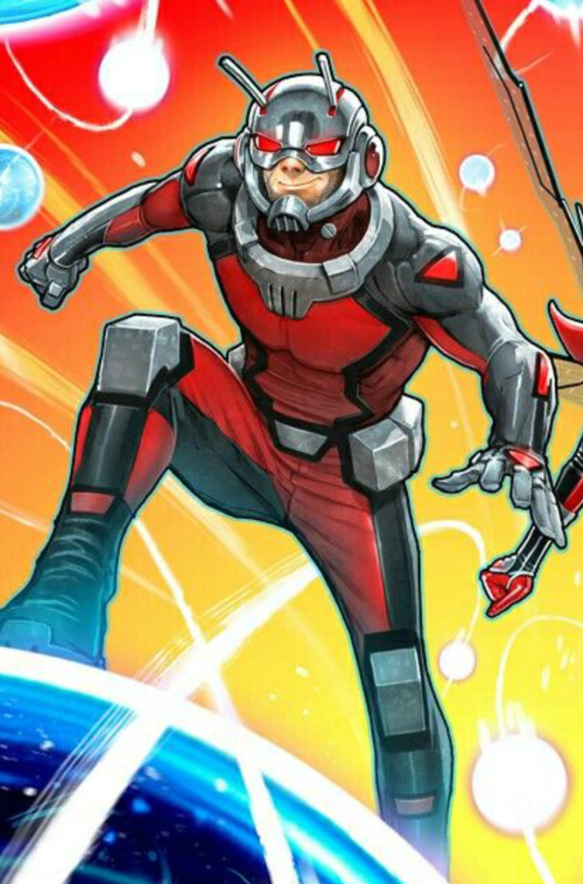 Ant Man is poised for adventure at atomikpop.com