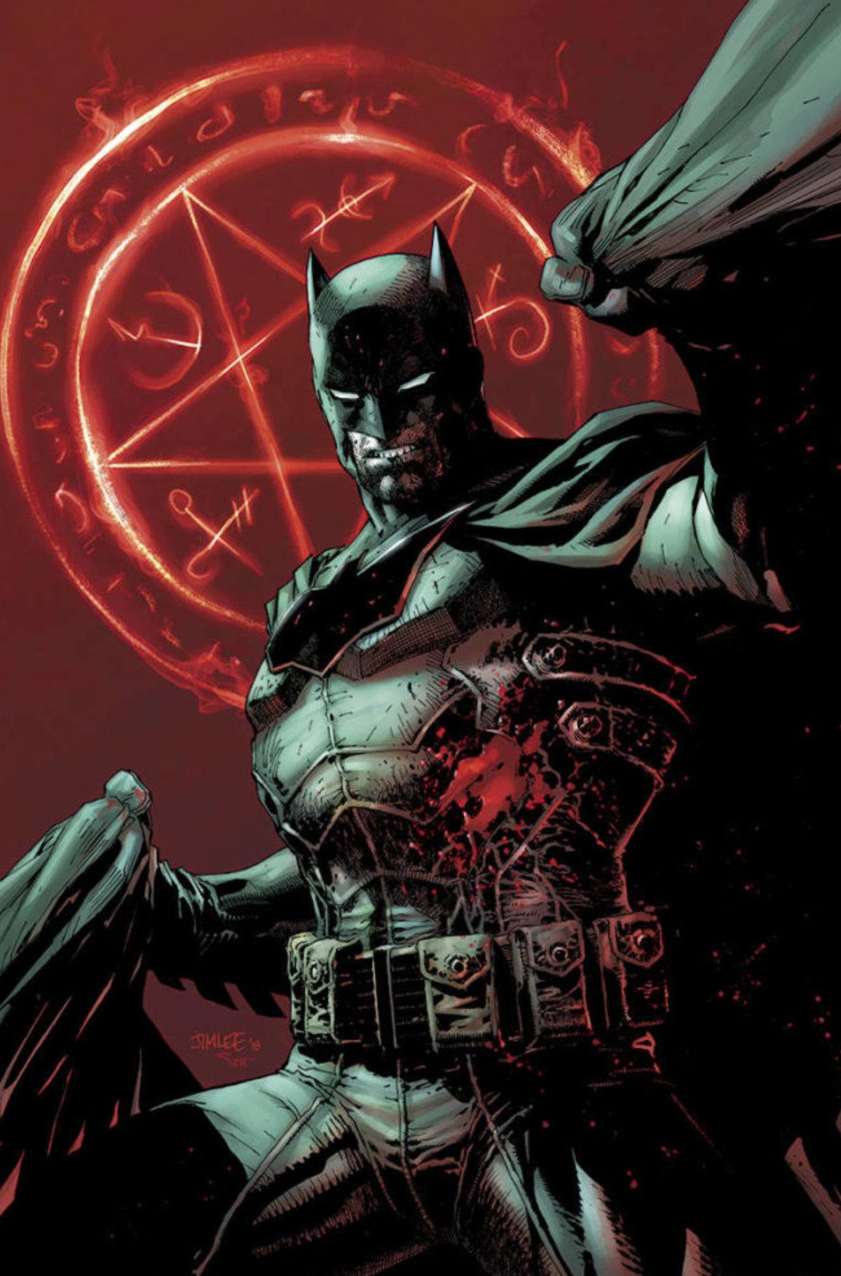 Batman Damned #1b, September 2018