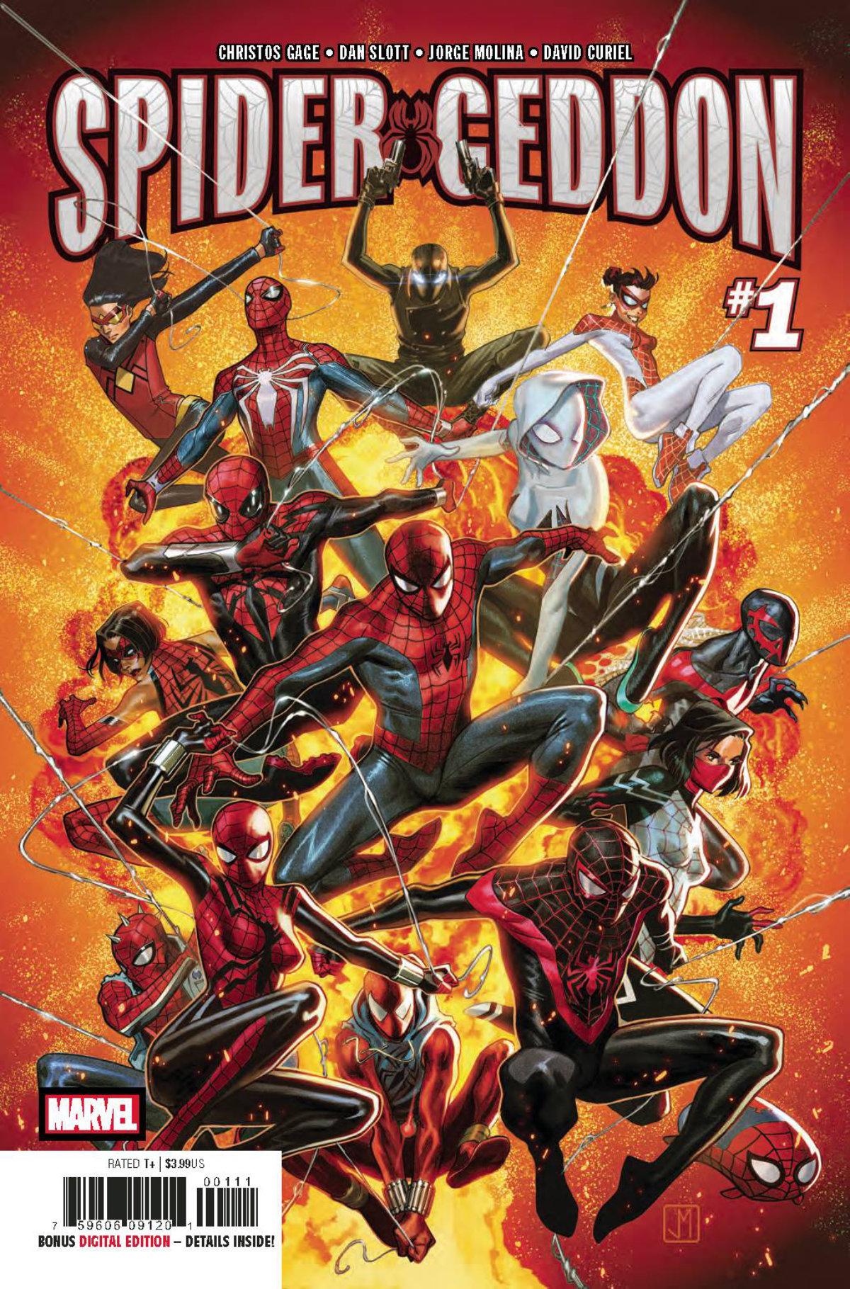 Spider-Geddon #1 Invades atomikpop.com