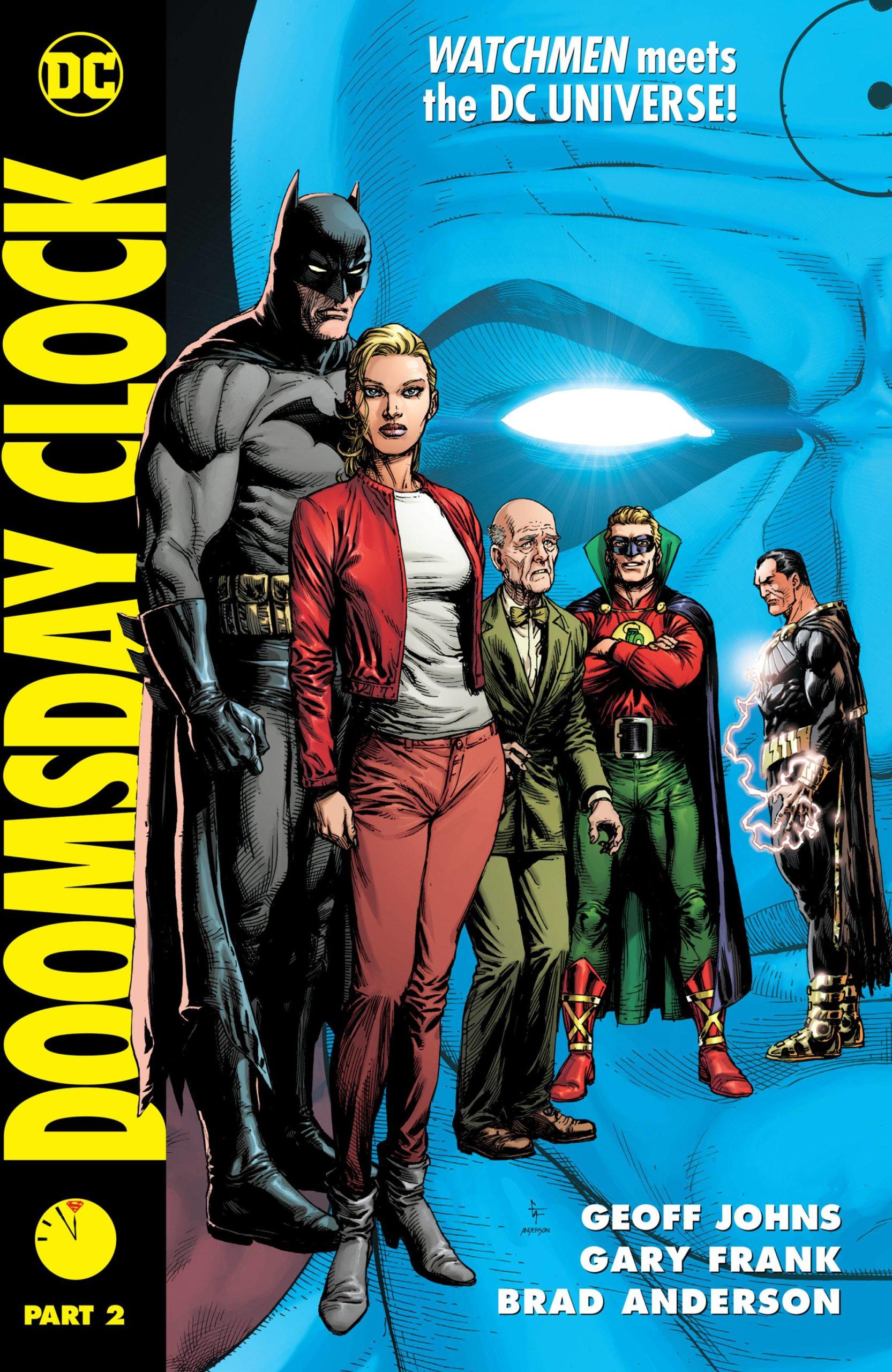 Doomsday Clock Hc Vol 02 With Slipcase Atomik Pop