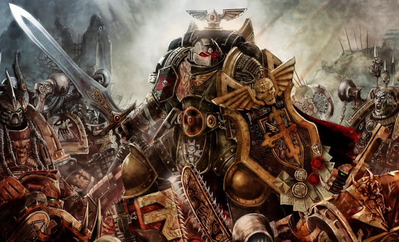 Black Templar: A Third Army for Me, I Guess? (3/3)
