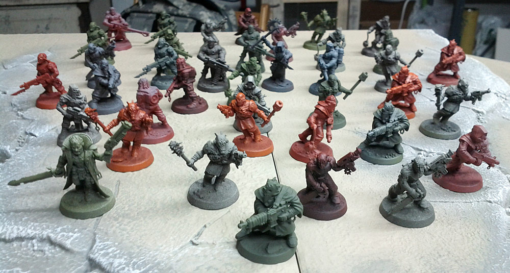 Painting Chaos Cultists: Quick and Easy, Part One (5/5)
