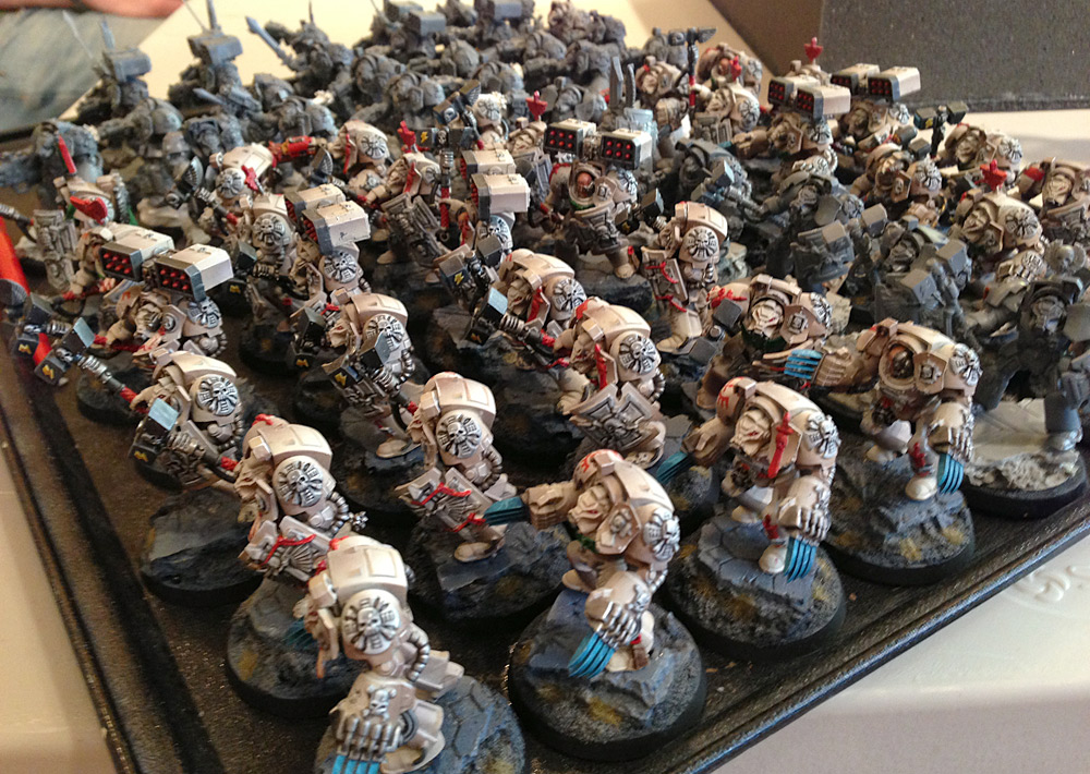 Issues With the New Chaos Space Marine Codex and a New F(r)iend (1/2)