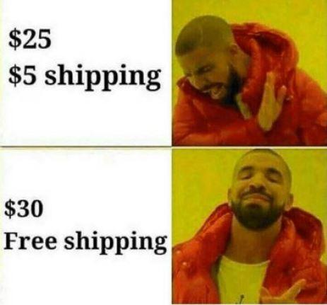 El engaño del envío gratis
