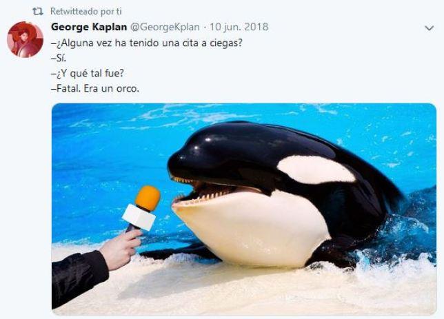 El mejor chiste de la orca viral