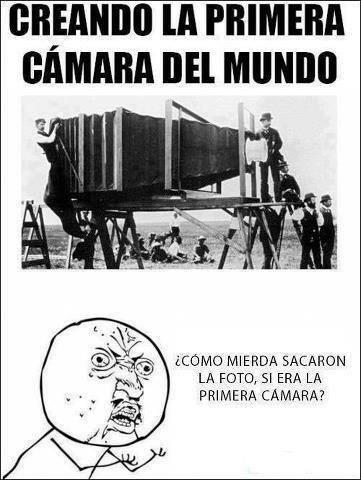 Fotografía de la primera cámara del mundo