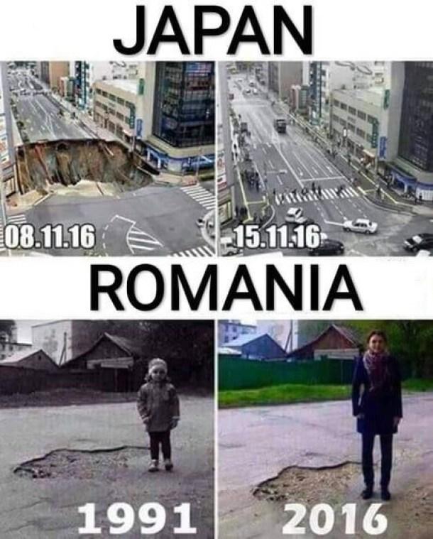 Japón VS Romania