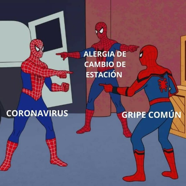 Coronavirus Spiderman