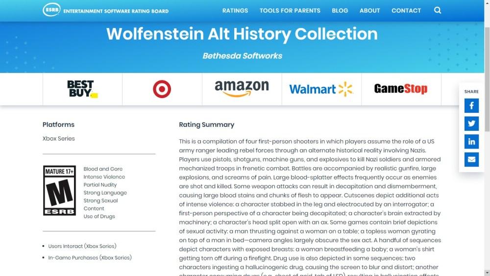 Dishonored, Prey e Wolfenstein podem acompanhar o lançamento do Xbox Series.