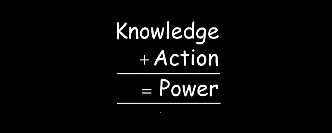 knowledge is power but