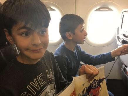 En route to Peru.