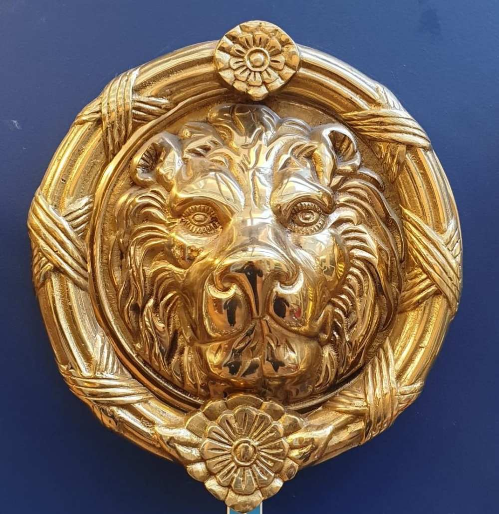 medium resolution of lion head large door knocker touch ironmongery chelsea architectural ironmongery london