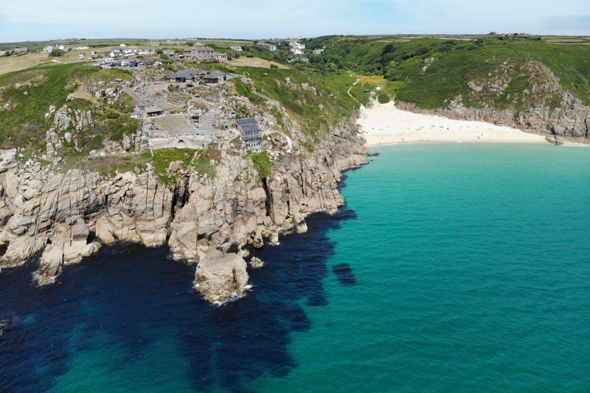Cornwall England Cliffs