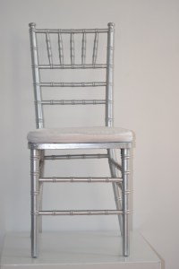 Silver tiffany chair - A Touch of Eleganz