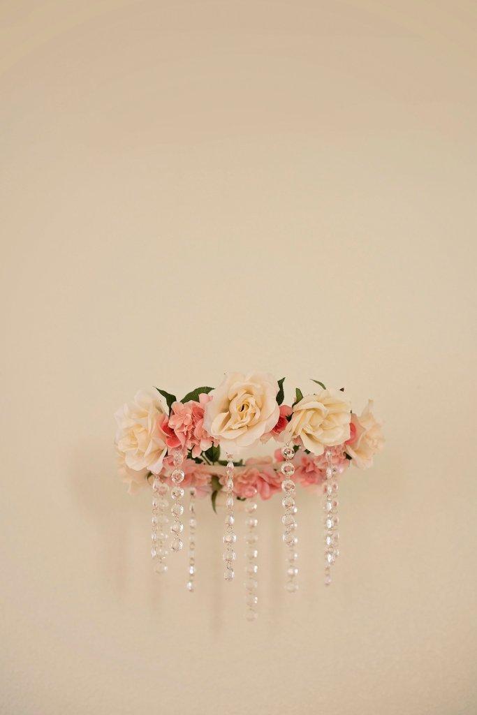 DIY Floral Nursery Mobile