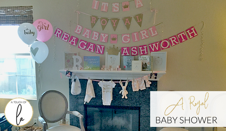 Royal Baby Shower Decorations: Baby Shower Ideas