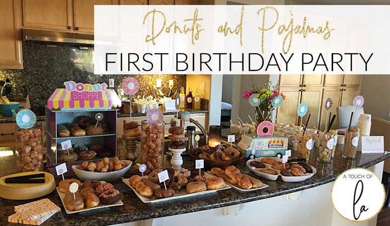 Donuts and Pajamas Party: An easy birthday to plan