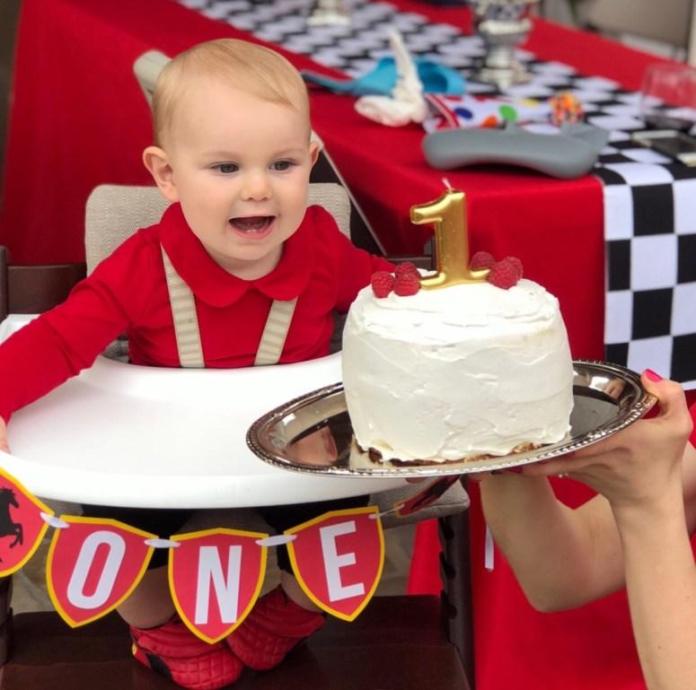 Ferarri 1st Birthday Party