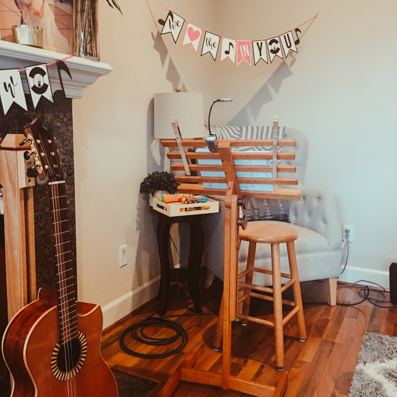Kids Music Themed Birthday Party