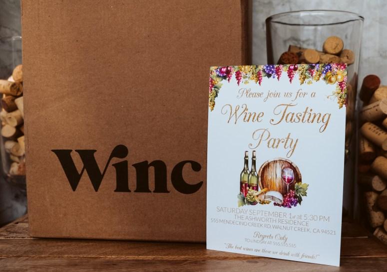 Wine Party Invitation