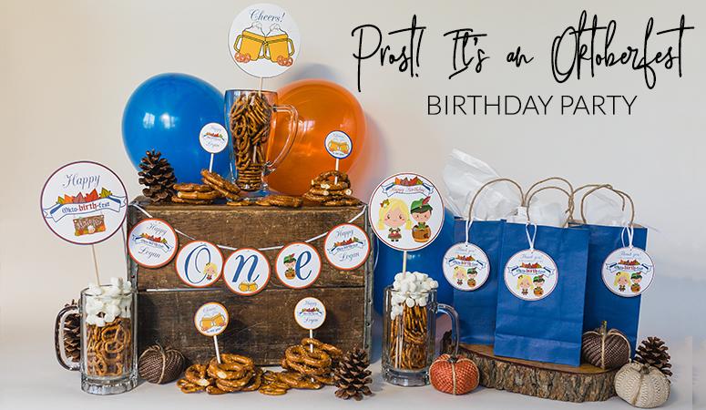Oktoberfest Birthday Party Decorations