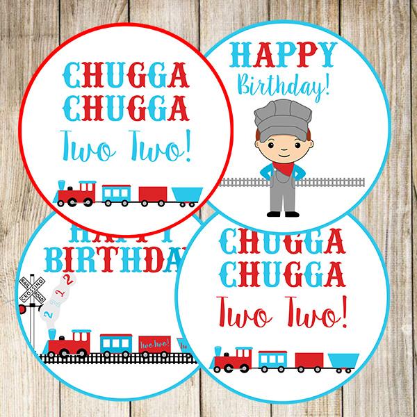 Chugga Chugga Two Two PNG Circles