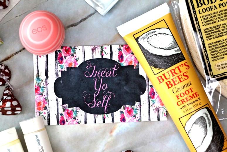 Treat Yo Self Spa Jar Flay Lay : Easy DIY Christmas Gifts
