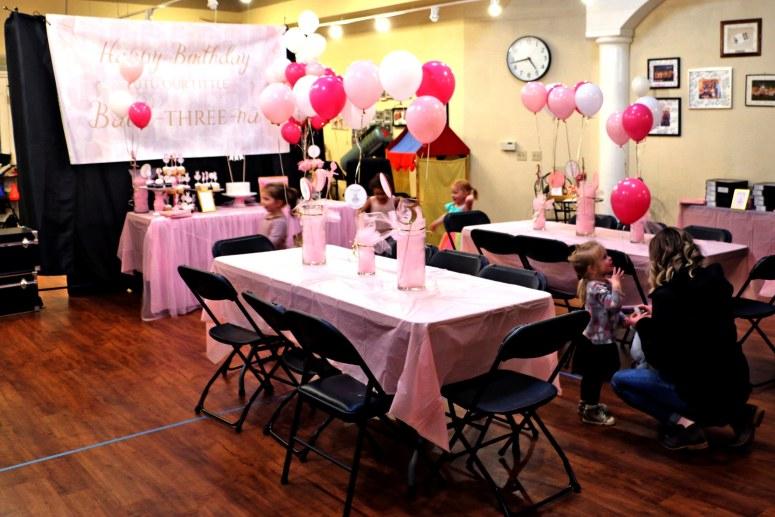 Ballerina Party Setup