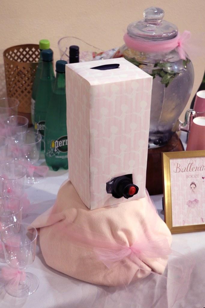 Ballerina Party Wine Box