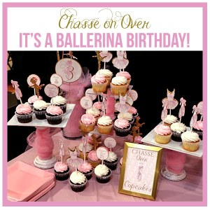 Ballet Birthday Party Decorations