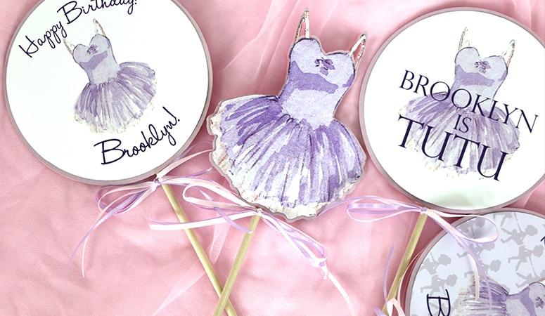 Purple Tutu Party Decorations