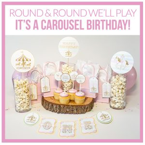 Carousel Party Decorations