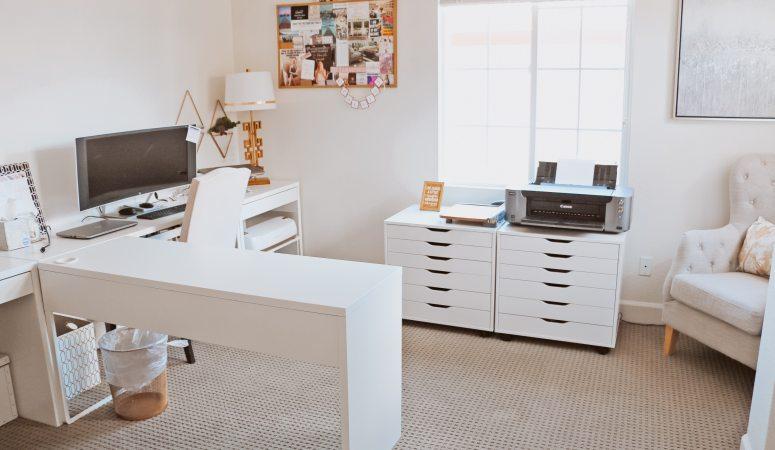 The Best Cricut Desk Setup and Paper Organization