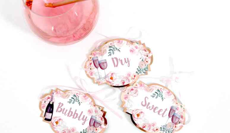 Rosé All Day Party: Printable Party Decorations