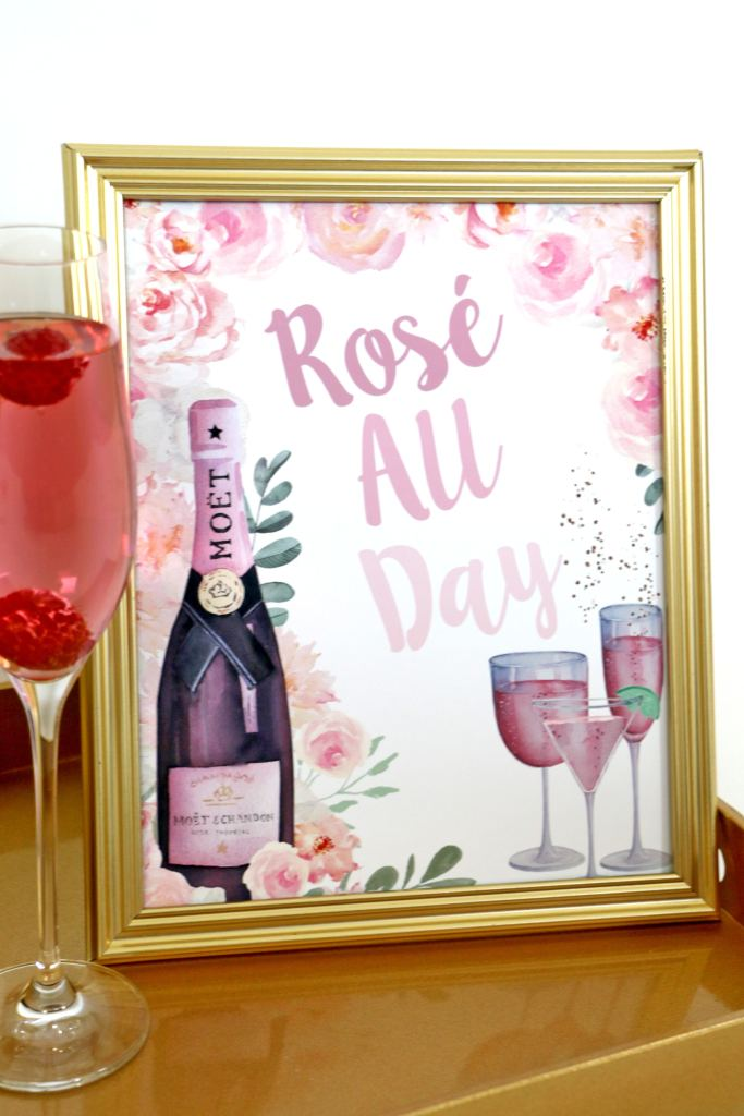Rosé All Day Sign