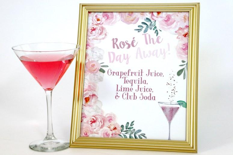 Rosé All Day Signature Cocktails