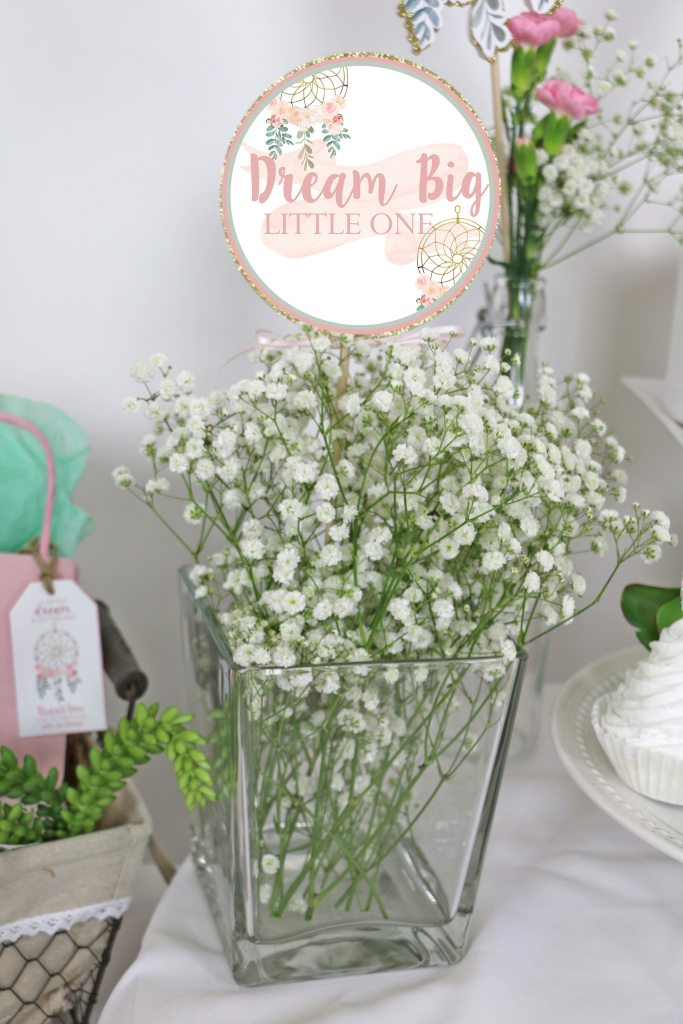 Dream Big Little One Baby Shower Decorations