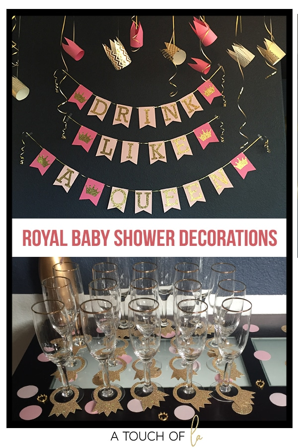 Royal Baby Shower Decorations
