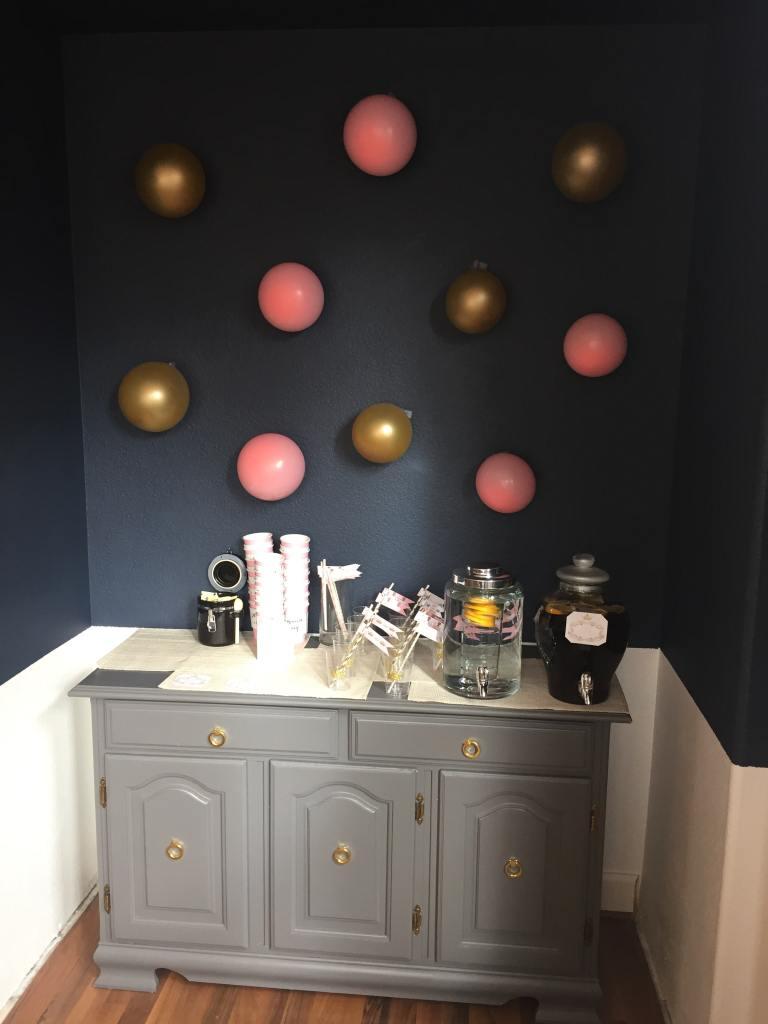 Royal Baby Shower drink station