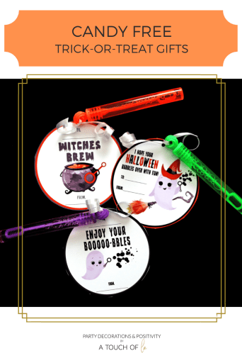 Candy Free Halloween Gifts