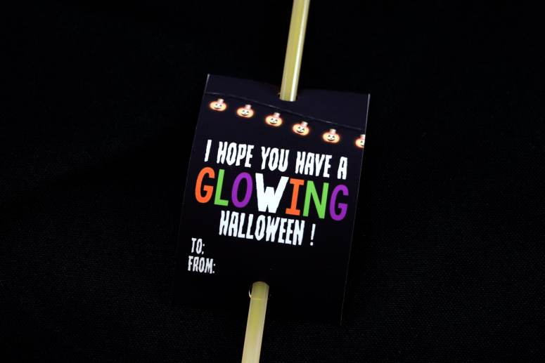 I hope you have a glowing halloween! Glow Stick Gifts for Halloween.