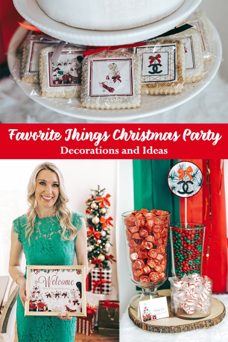 Favorite Things Christmas Party Decorations and Ideas